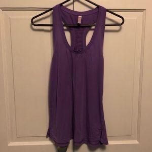 Purple Lucy Workout Tank